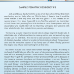 Dermatology Residency Personal Statement Writing   Personal     residency personal statement samples by edukaat  wLiCHf