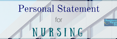 personal statement for nursing school