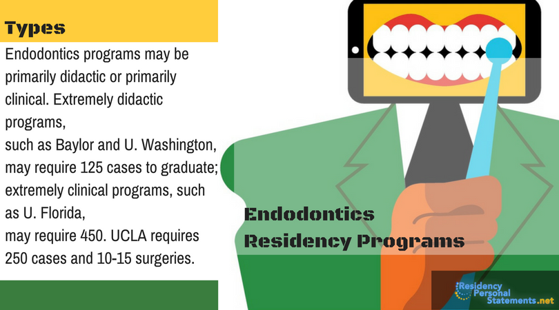 Outstanding Endodontics Residency Personal Statement Writing