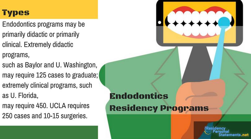 endodontics residency types
