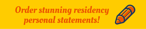 residency personal statement sample