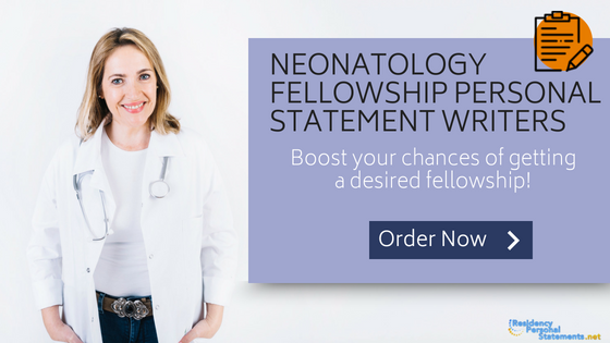 neonatology fellowship personal statement writers
