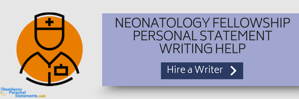neonatology fellowship personal statement writing help