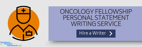 oncology fellowship personal statement