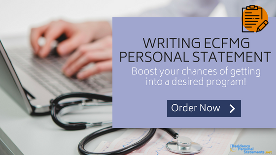 ecfmg personal statement writing service