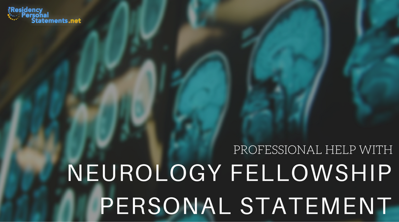 interventional neurology fellowship personal statement