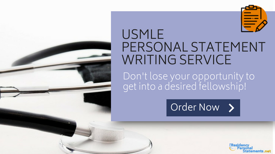 usmle personal statement writing service
