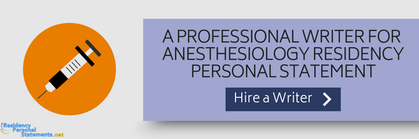 best anesthesiology residency programs application help