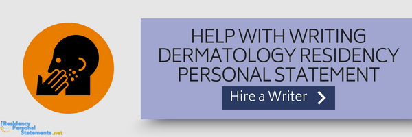 help with dermatology residency programs
