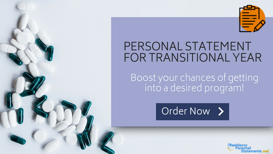 transitional year personal statement writing service