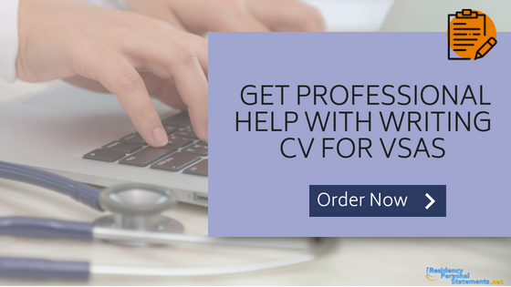 cv for vsas writing service