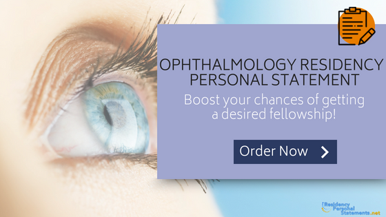 ophthalmology residency personal statement writing service