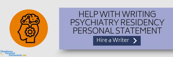 personal statement psychiatry residency writing help
