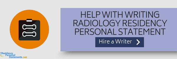 radiology residency programs application help