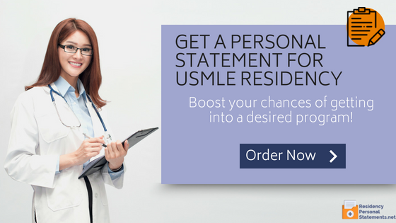 writing a personal statement for usmle residency