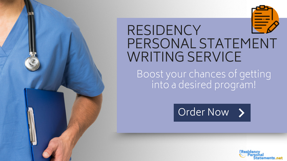 best personal statement residency examples