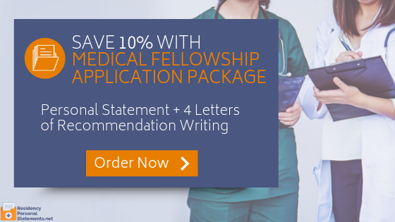 get a winning letter of recommendation for fellowship