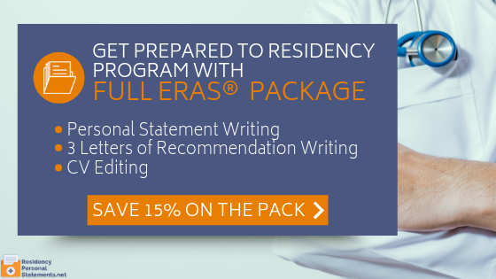 residency letter of recommendations writing